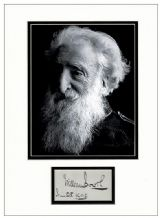 William Booth Autograph Signed Display - Salvation Army